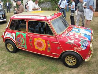 Psychedelic Mini owned by George Harrison