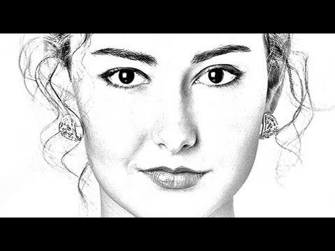 Bleistiftzeichnung mit photoshop video tutorials docma magazin · pencil sketch