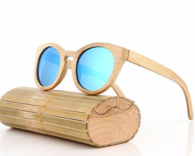 9bd4b14218 Wood Sunglasses Polarized Driving Bamboo Sunglasses Wooden Glasses Frames