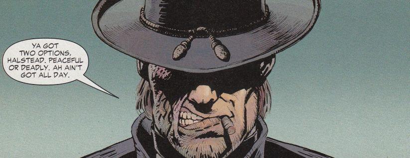 Johan hex luck runs out jonah hex hex westerns