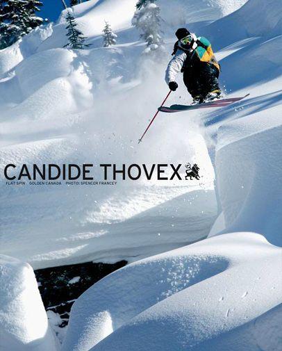 candide thovex flat spin golden canada freeride. Black Bedroom Furniture Sets. Home Design Ideas