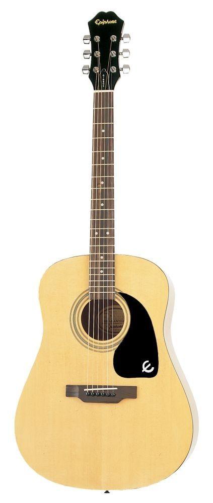 Epiphone Dr 100 Acoustic Guitar Natural Acoustic Guitar Epiphone Epiphone Acoustic Guitar