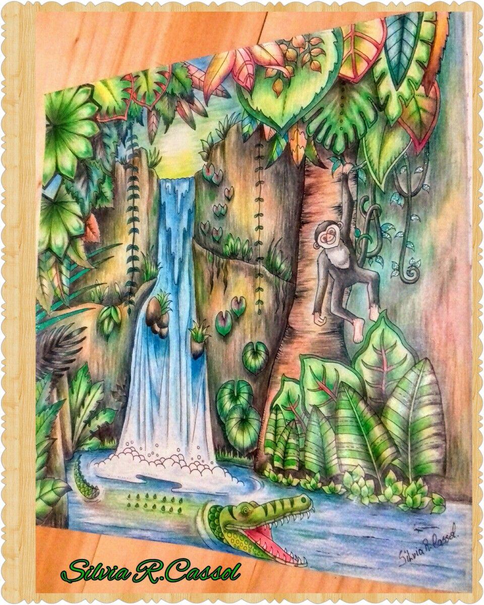magical jungle johanna basford by silvia regina cassol meus