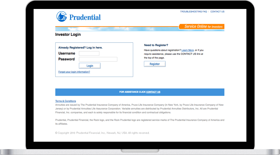 Log In Prudential Financial Prudential Life Insurance Companies Investment Advice