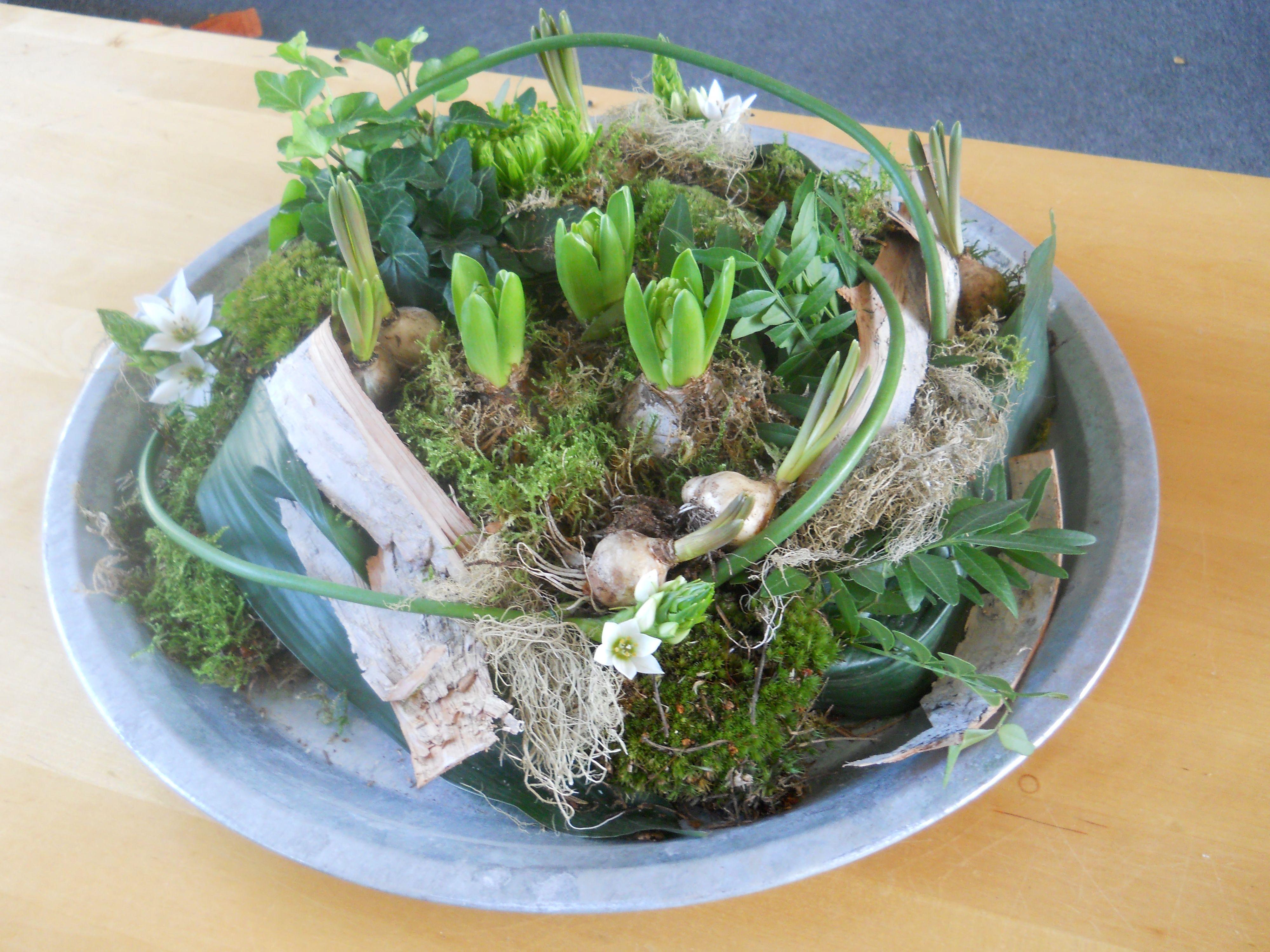 Voorjaarsbollen op schaal bloemen in huis voorjaar for Huis inrichten op schaal