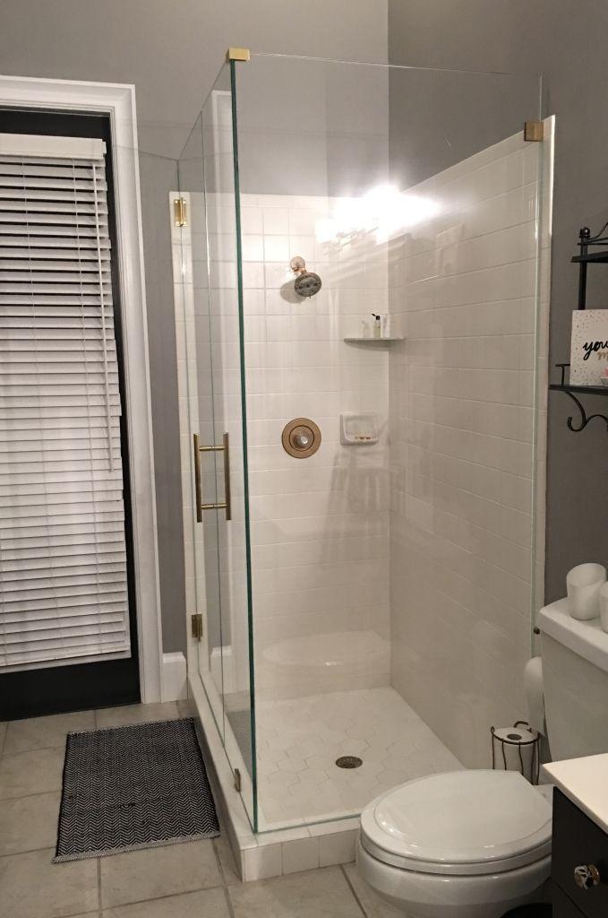 Ultra Clear Glass Shower Door