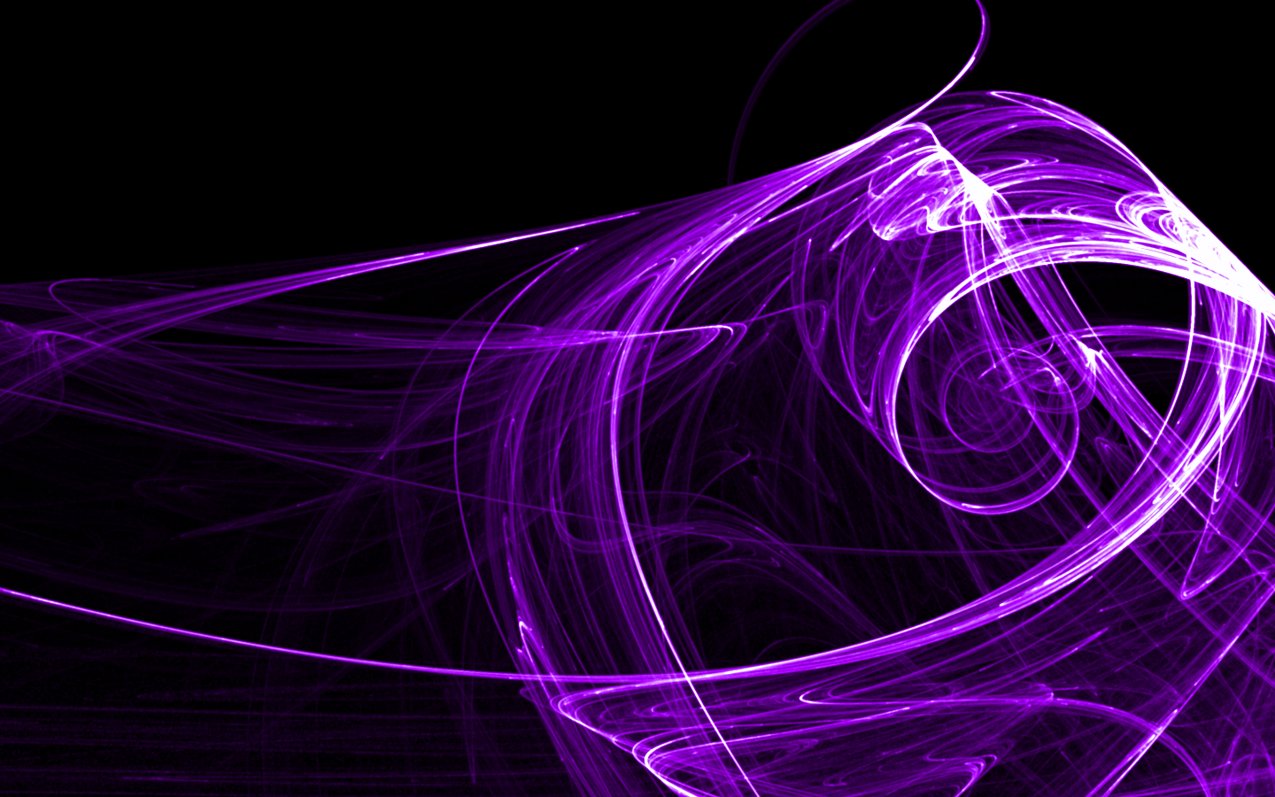Amazing Purple Abstract Art Wallpaper