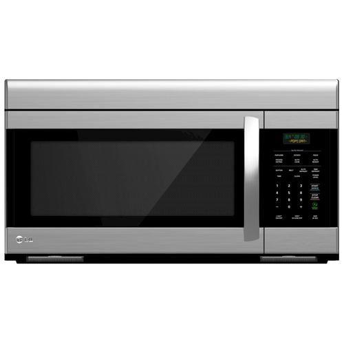 Lg 1 6 Cu Ft Over The Range Range Hood Microwave Oven At Menards