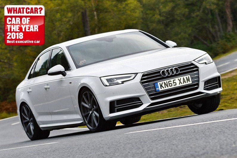 Audi A4 Saloon Review 2018 What Car Audi Audi A4 Diesel Engine