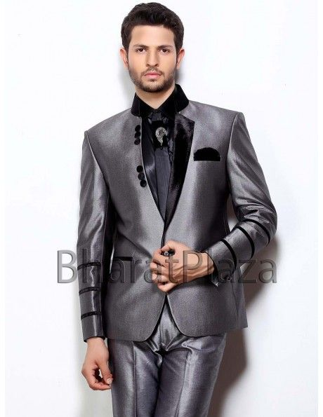 Luxurious Reception Jodhpuri Suit | New designs | Pinterest ...