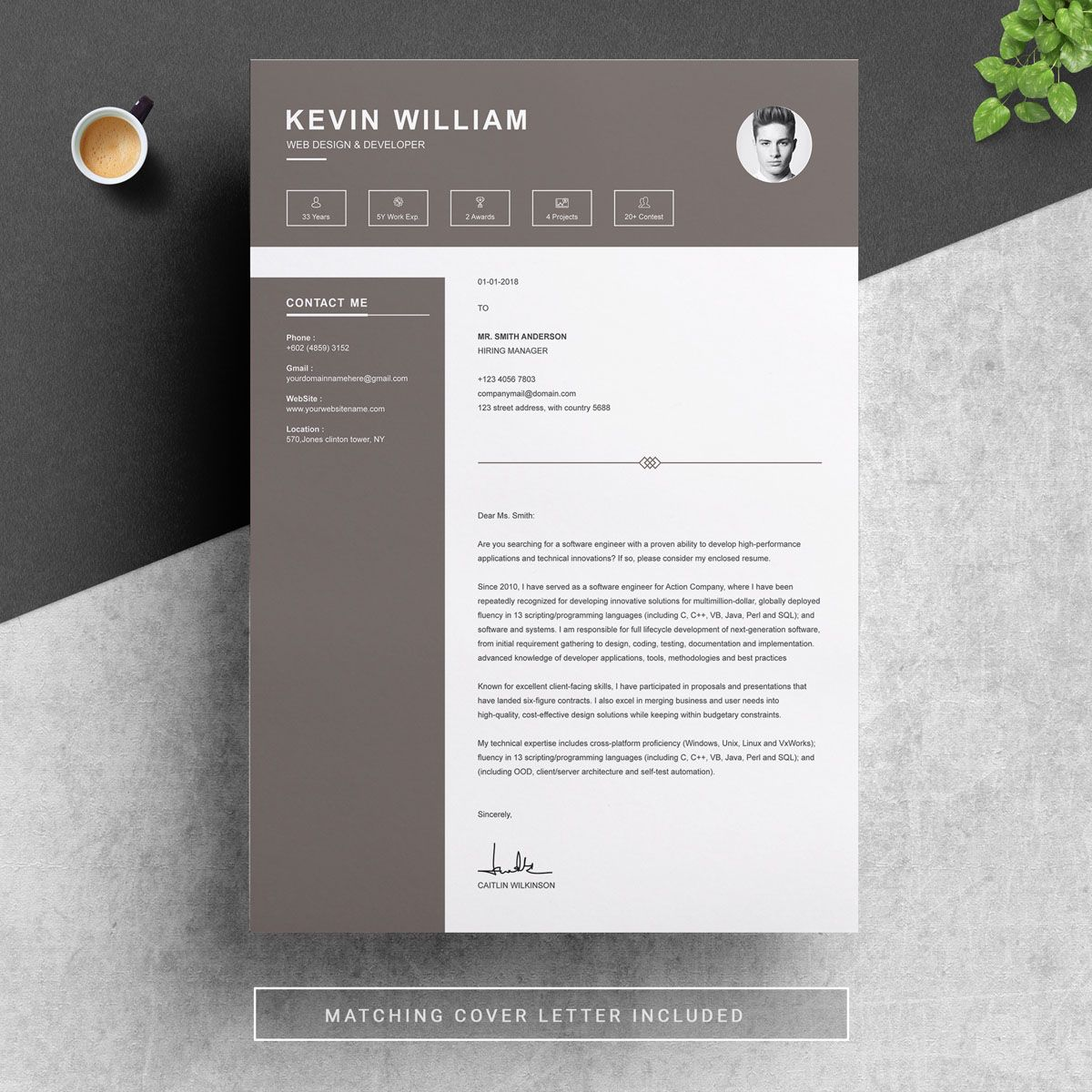 Kevin William Resume Template 74169 Templates, Resume