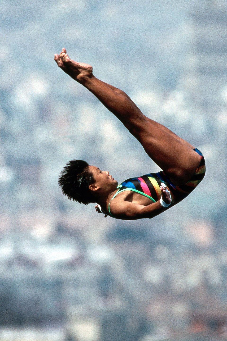 Fu Mingxia Neil Leifer Summer olympics, Olympics, Sports