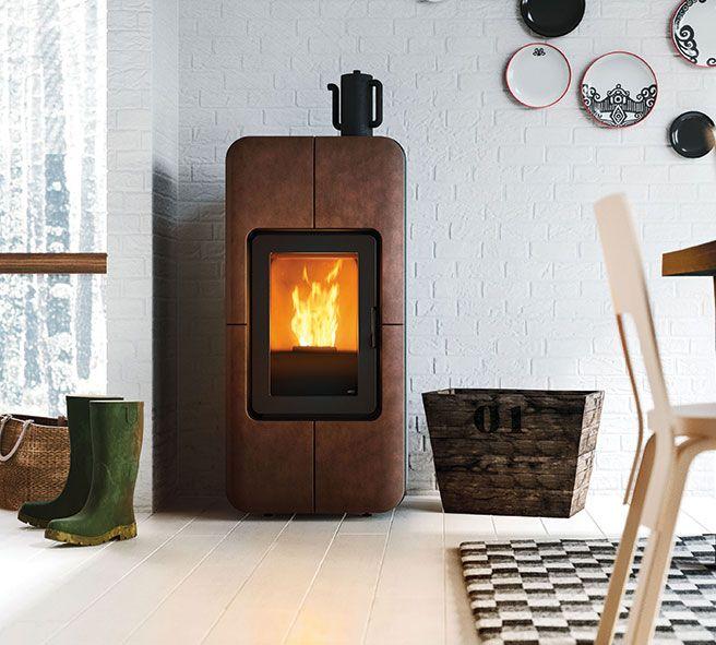 Nordic Design In Italian Style Pellet Stove Nordic Design Design
