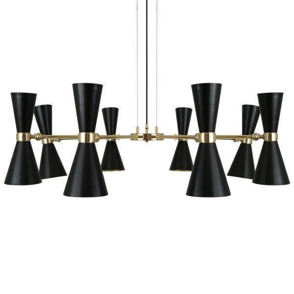 Show details for Cairo 8 Arm Contemporary Chandelier