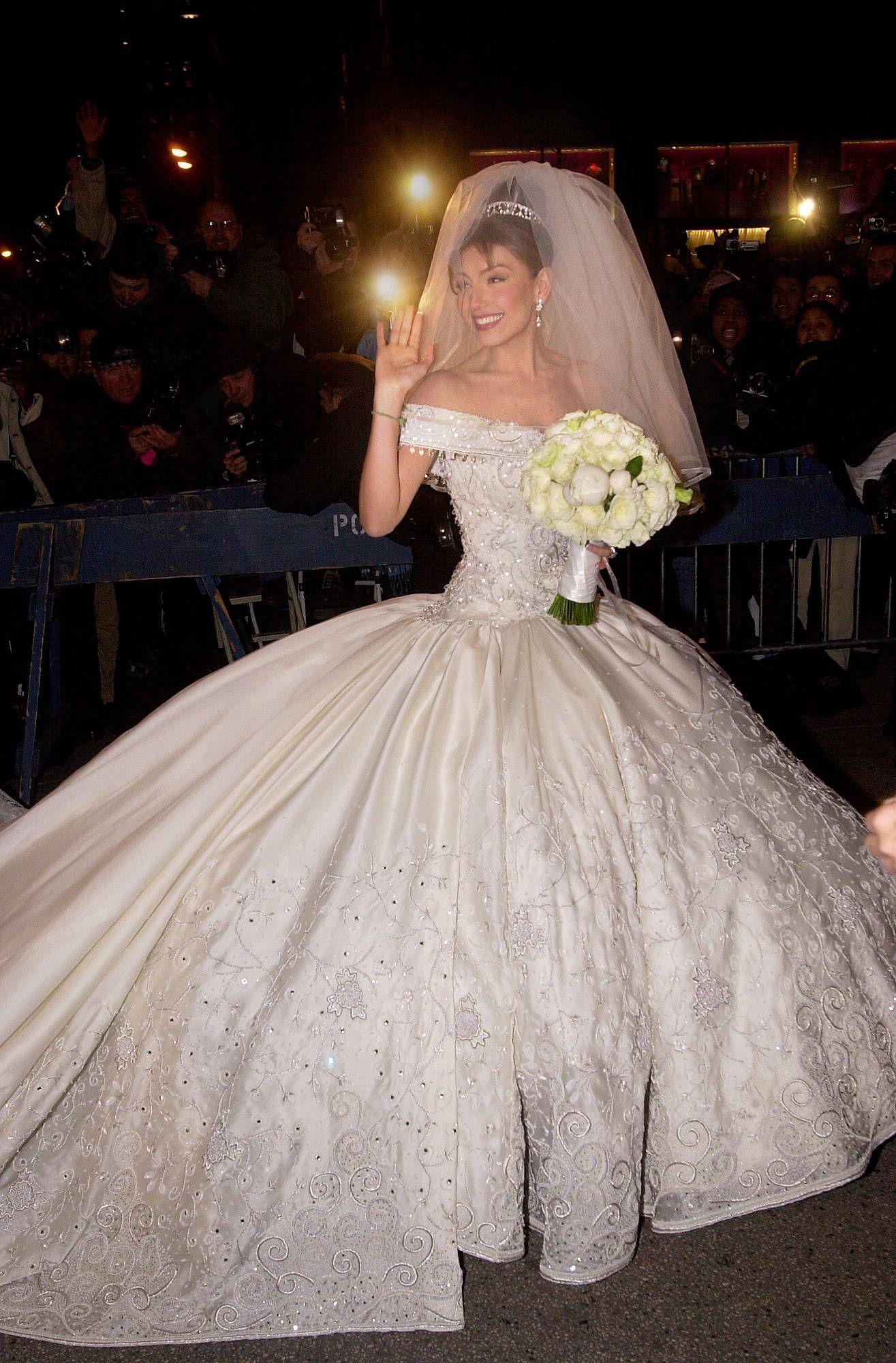 Vestido de la boda de thalia