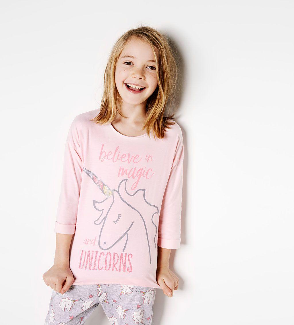 en stock gamme exceptionnelle de styles magasin britannique Afbeelding 1 van Pyjama 'Unicorn' van Zara   Kids fashion ...
