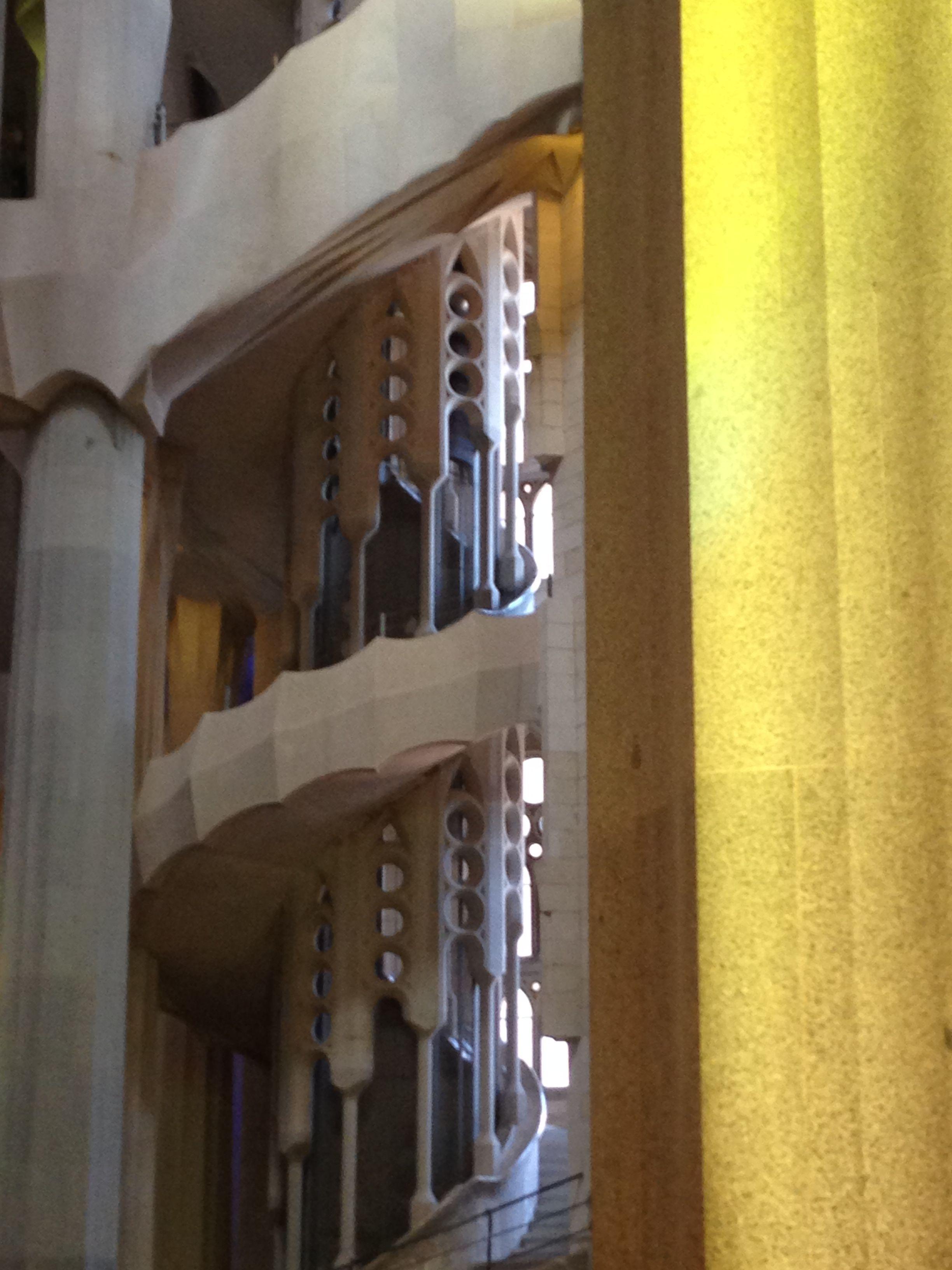 Detail from Gaudi's Sagrada Familia, Barcelona, Spain