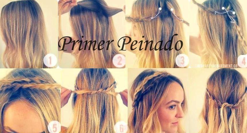 encuentra este pin y muchos ms en peinados faciles y divertidos de malove peinados sencillos y bonitos paso