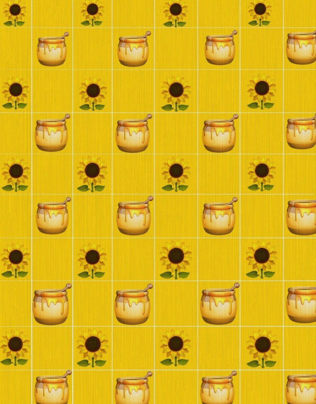 yellow edit yellowaesthetic flower honey sunflower