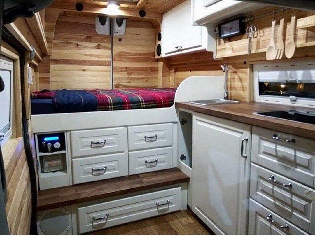 50 Best Hacks And Remodel RV Camper Van 8
