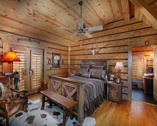 Merveilleux Rustic Cabin Bedroom Decorating Ideas