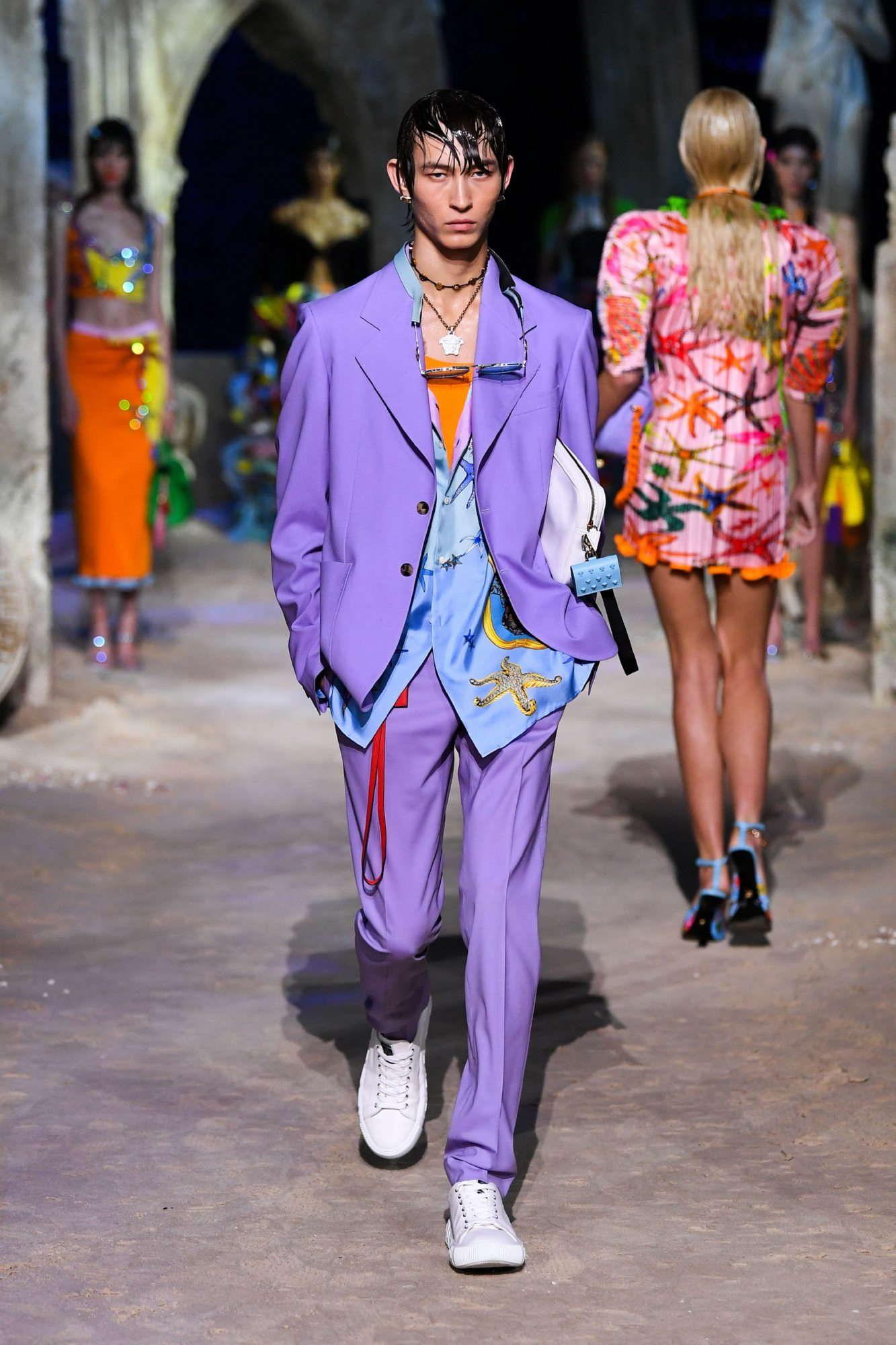 Versace Spring-Summer 2021 - Milan Fashion Week