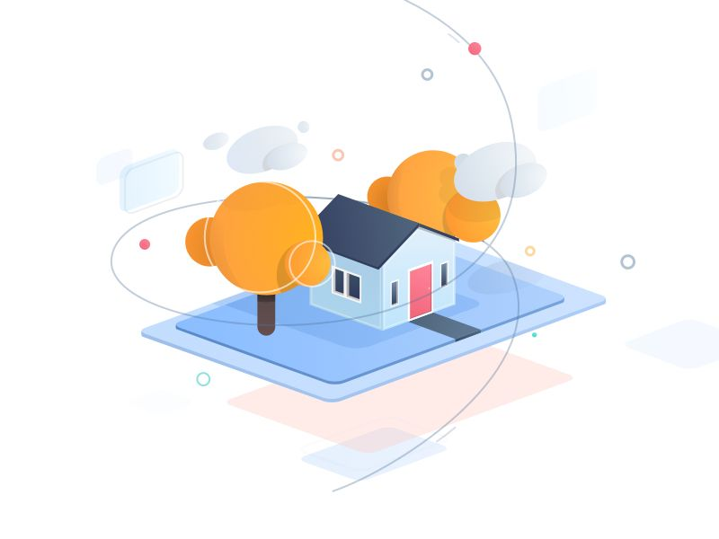 Fun house sketches illustrations and house illustration this is my first isometric illustration using sketch app a bit hard but so much fun using it gonna try to explore more color style inspired by igor ccuart Image collections