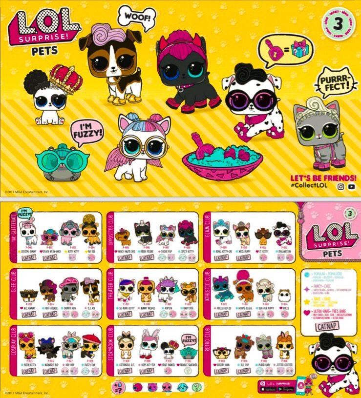 Lol Pets Series 3 Complete Lol Dolls Lol Pets 3