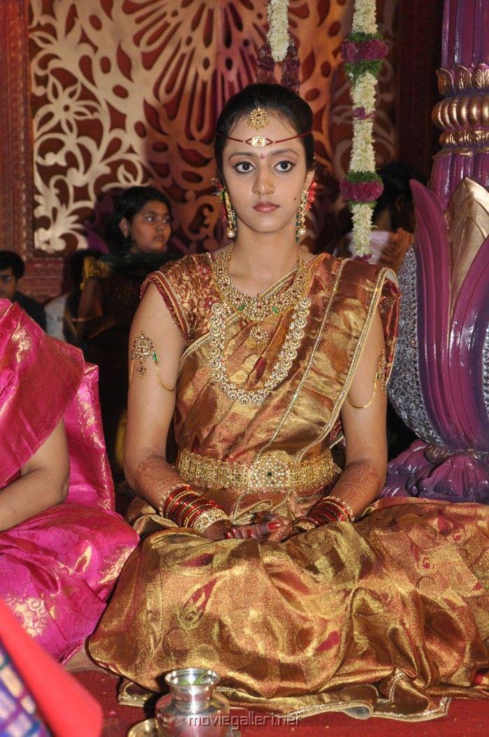 Lakshmi Pranathi Photo Gallery At Jr Ntr Marriage Indian Bridal Fashion Wedding Saree Collection Indian Bridal Outfits