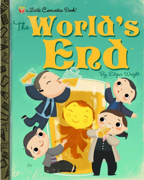 World's End faux Golden book | Illustrator: Joey Spiotto