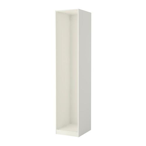 PAX Struttura per guardaroba, bianco bianco 50x58x236 cm