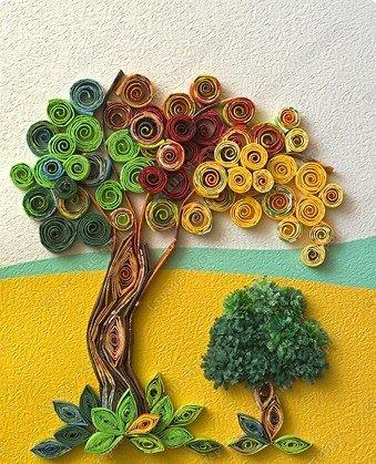 Quilling Jesienne Drzewo Paper Quilling Designs Quilling Designs Quilling Paper Craft