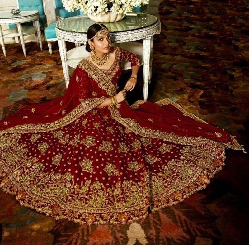 Delicious Eid Bollywood Indian Party Wear Lehenga Lengha Choli Stylish Designer Sari Brida To Have A Unique National Style Other Women's Clothing Women's Clothing