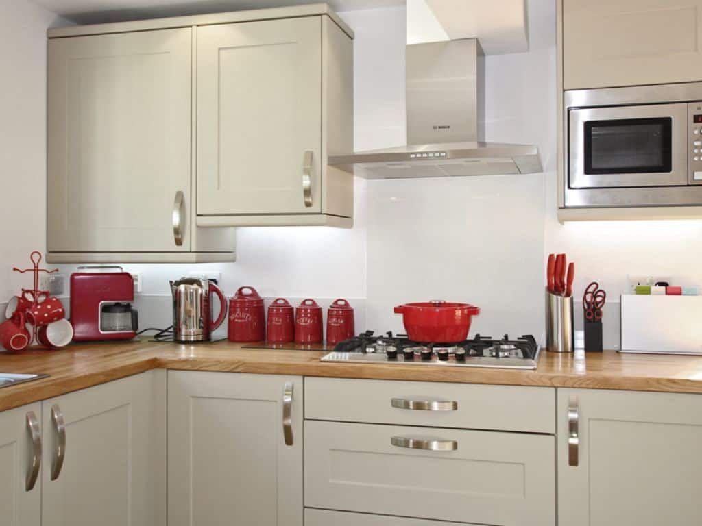 Kitchen Ideas With Red Accessories Kitchen Kitchen KitchenDesign ...