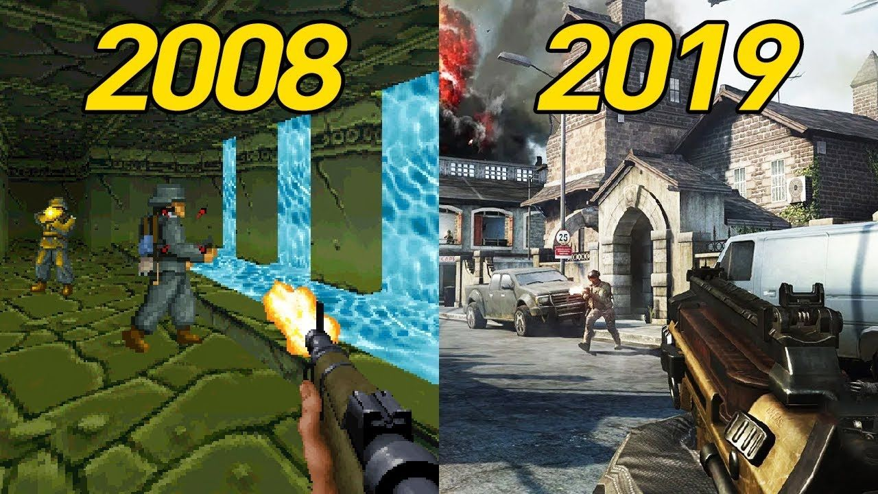 History of android fps games 2008 2019 with images