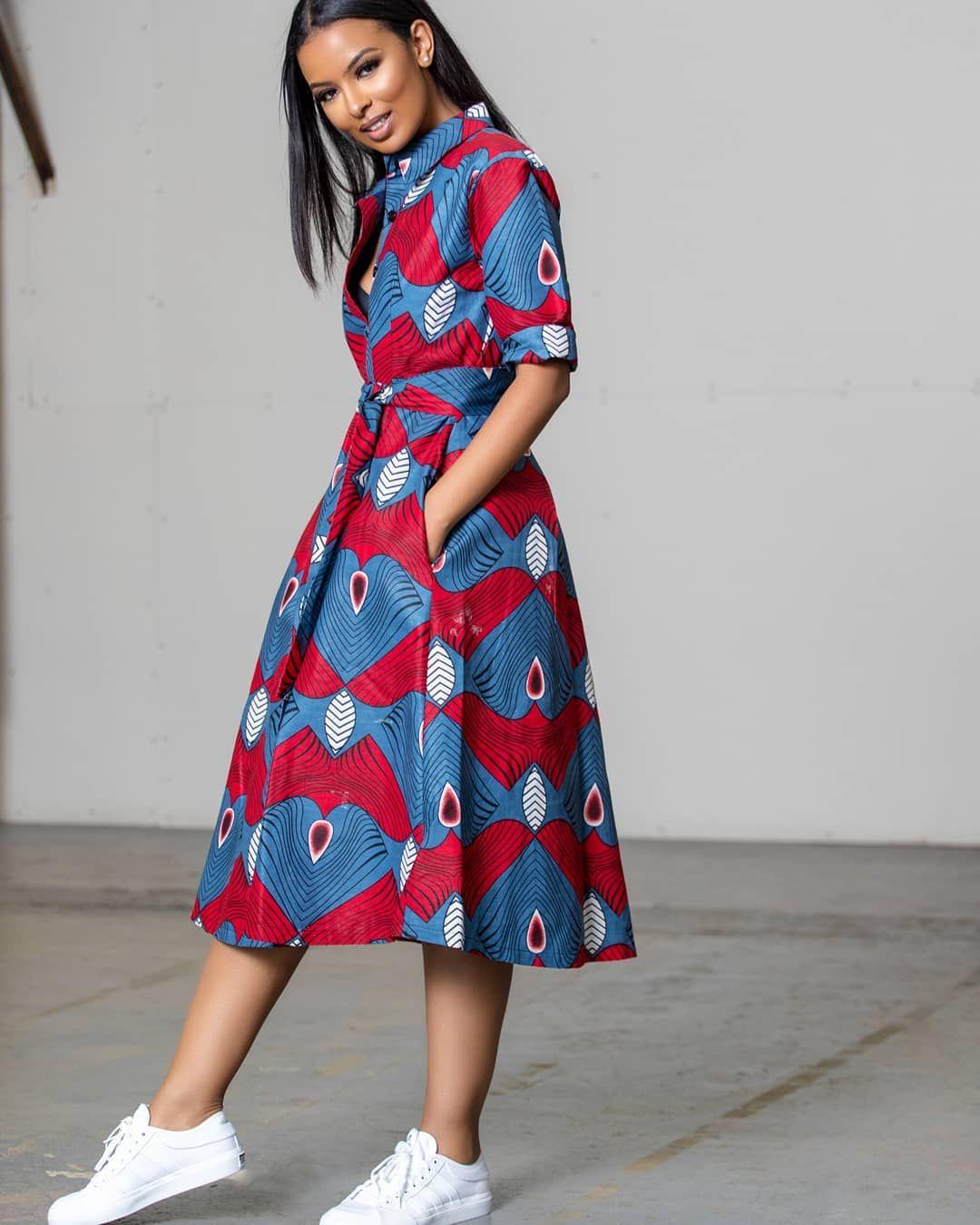 Short african dresses, African attire