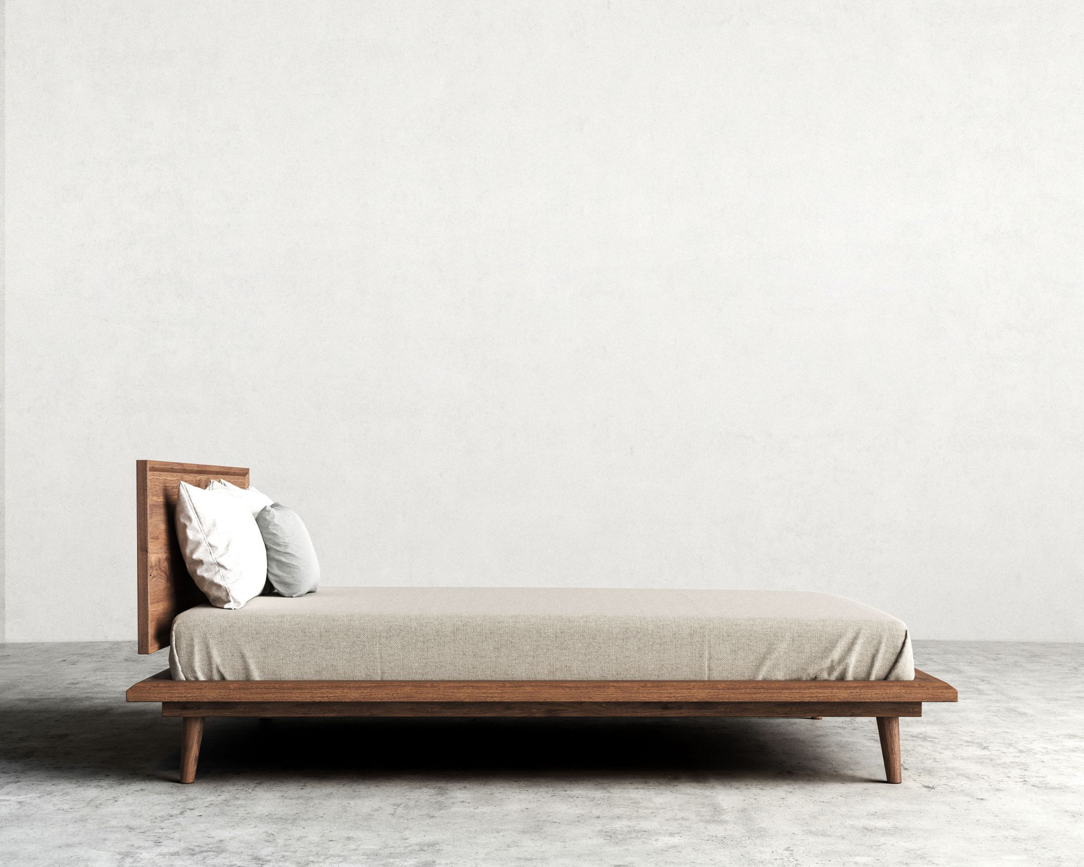 Asher Bed | Rove Concepts Sandro Mid-Century Furniture | Pinterest ...