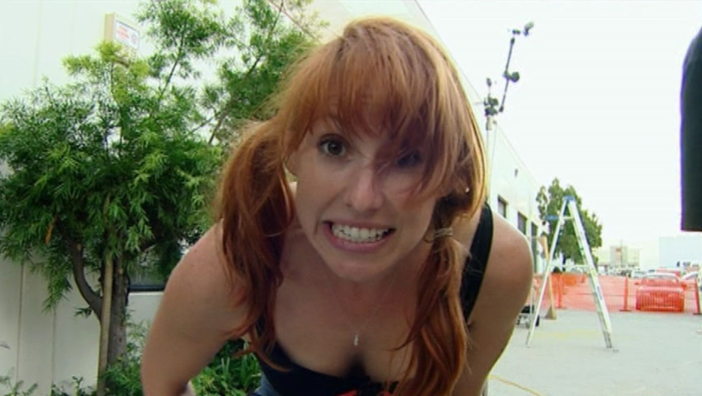 from Christopher mythbusters kari byron nacked