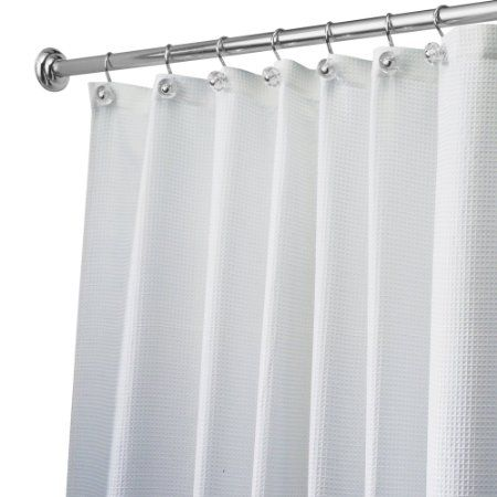 Amazon Com Carlton Long Shower Curtain 72 Inch X 84 Inches Or