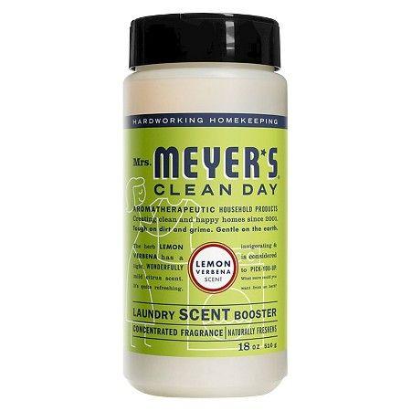 Mrs Meyer S Lemon Verbena Laundry Scent Booster 18oz Laundry Scent Boosters Laundry Scents Scent Booster