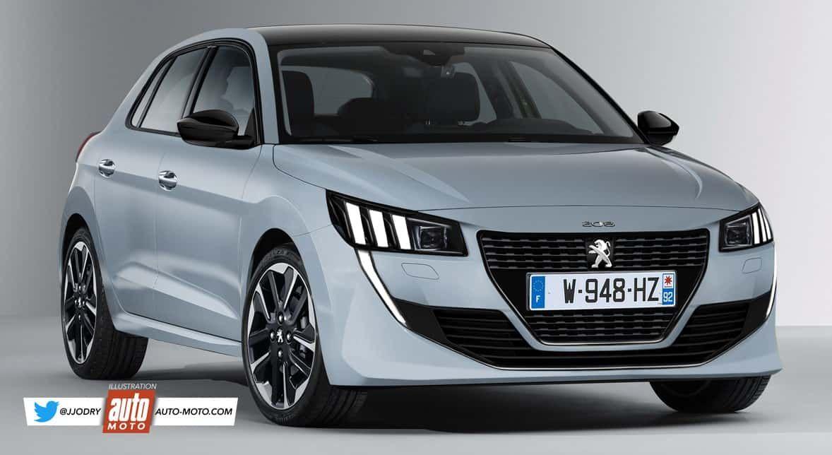 El Peugeot 208 Puramente Electrico Sera Una Realidad En 2019