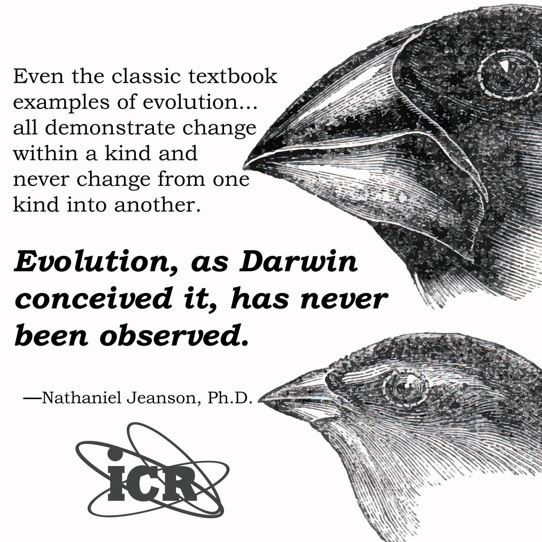 Institute For Creation Research Evolution Vs Darwin