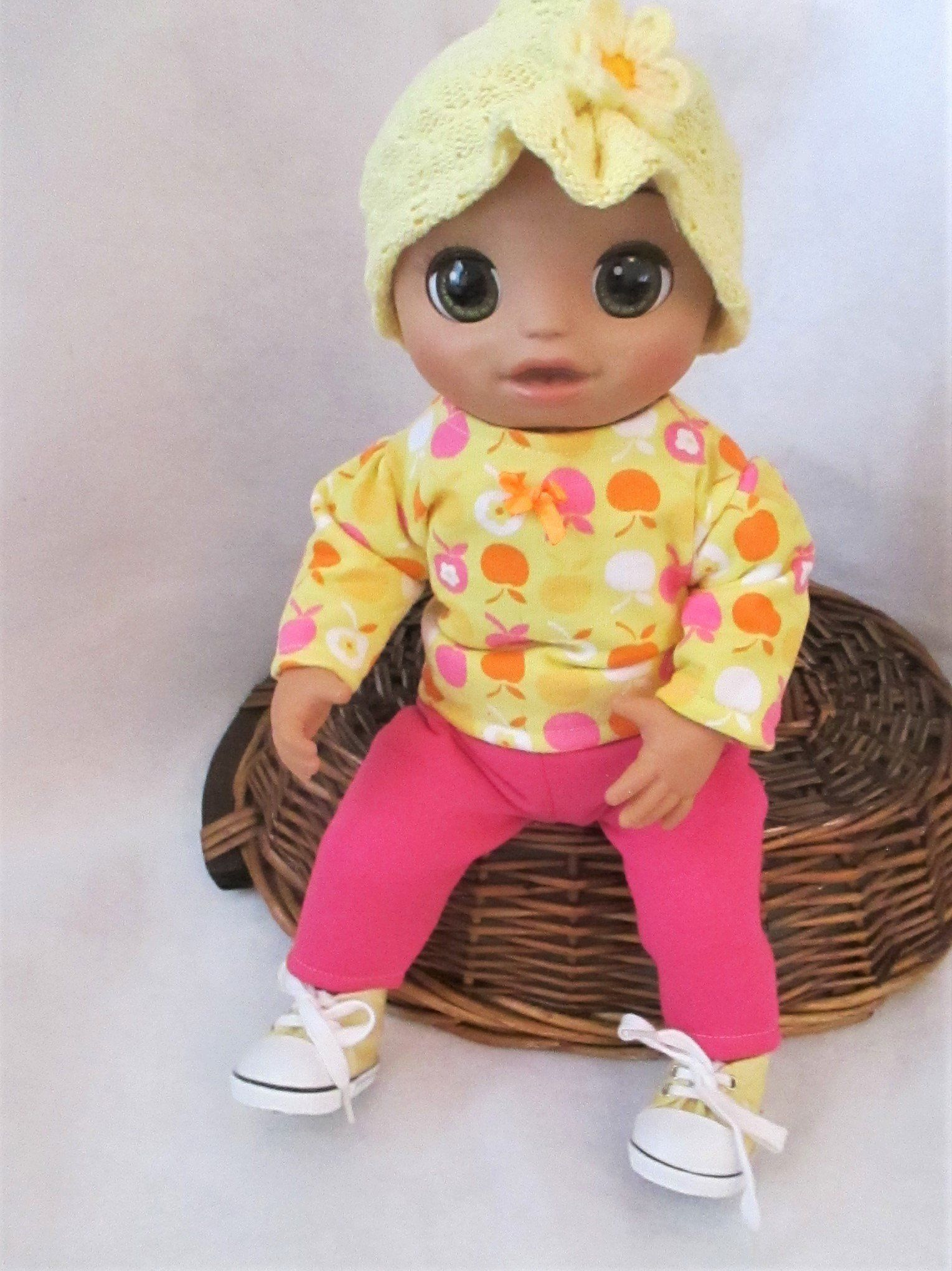 Baby Alive Real As Can Be Clothes Size : alive, clothes, Alive, Clothes, Apple, Clothes,, Alive,, Dolls