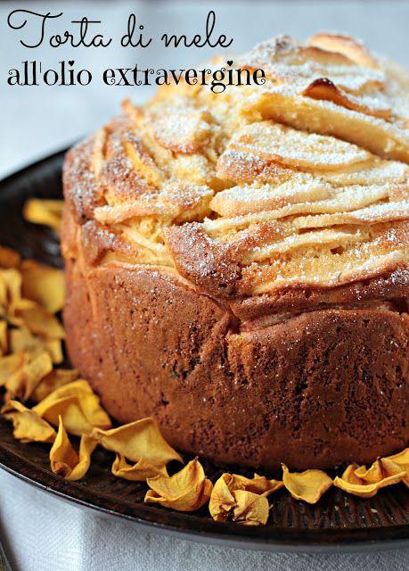 Extravirgin olive oil Apple Cake