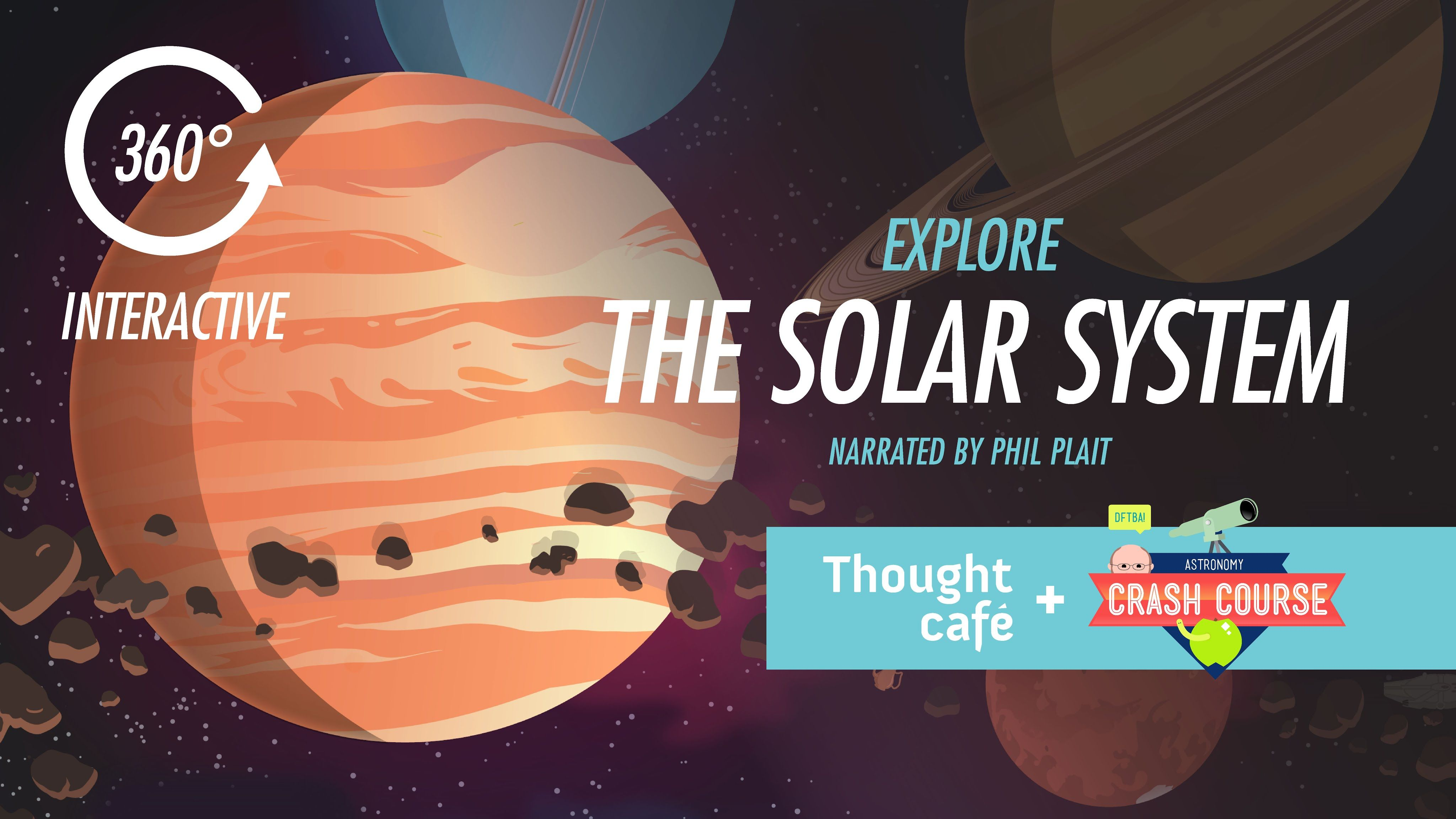Take A 360 Degree Virtual Tour Of Our Solar System With