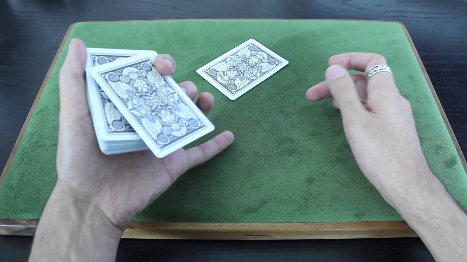 Slick Card Shooting Technique Tutorial Hd Card Tricks Easy