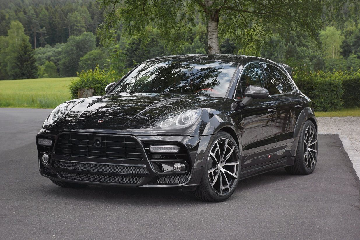 Mansory porsche macan turbo black if you re in