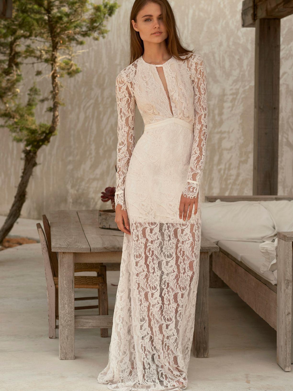The jetset diaries voyage maxi dress maxi dresses scalloped lace