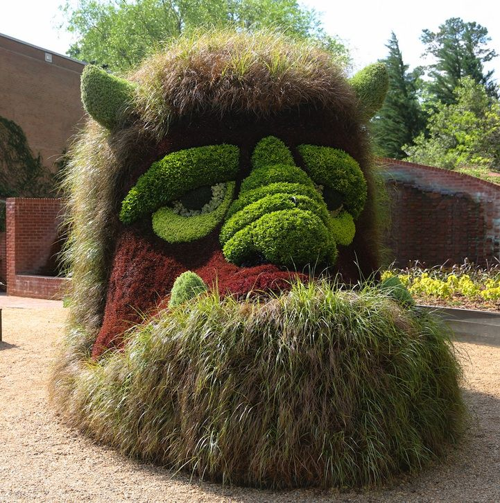 Incredible Giant Living Sculptures At Atlanta Botanical Gardens