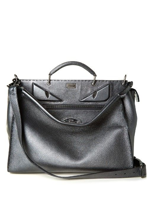 8f623b04cec ... promo code for fendi selleria bag bugs peekaboo leather weekend bag. fendi  bags leather 8db8c